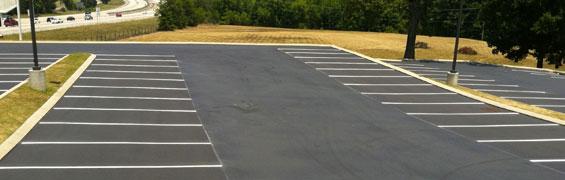 Lakeland parking lot paving